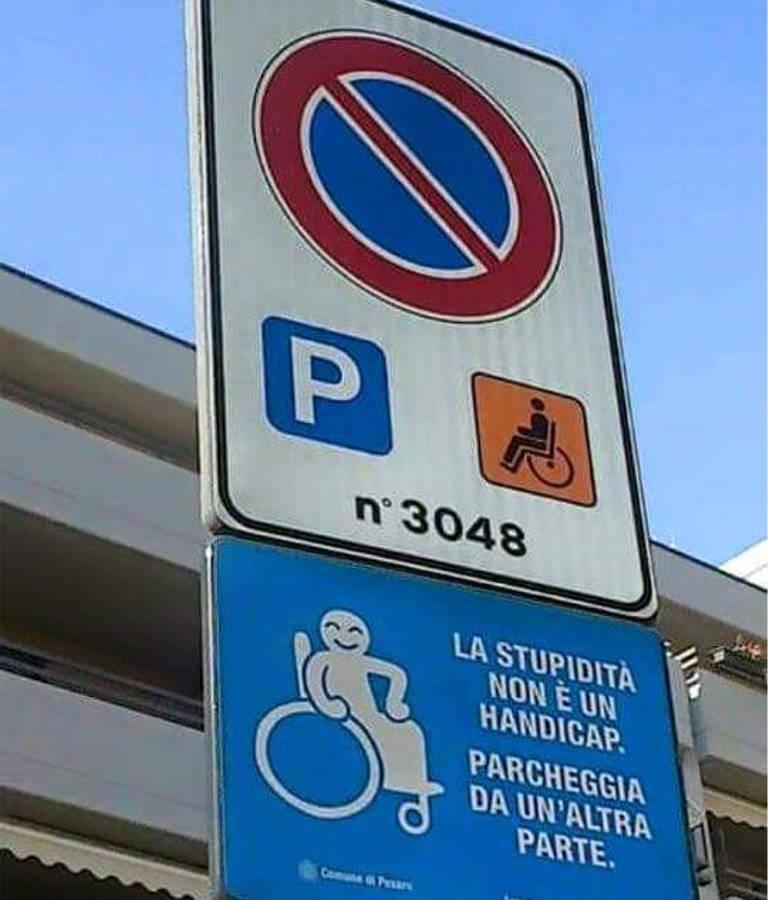 La Stupidità non è un Handicap